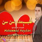 دانلود آهنگ جدید قلبیمده سن سن از محمد حیدری